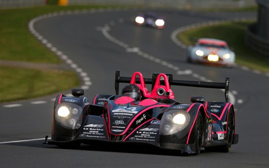 Me driving at Le Mans 2013